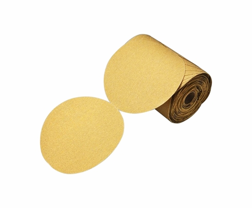 "3M 86470 Stikit Gold 236U ""C"" Weight 6"" Sandpaper Discs - 120 Grade"