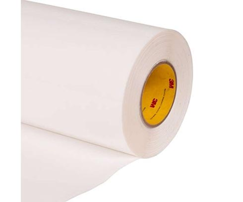 "3M™ 70-0000-8321-5 Transparent 8673 Polyurethane 14 Mil Protective Tape - 2"" x 36 Yard Roll"