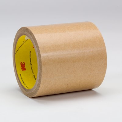 "3M™ 021200-37730 Clear 950 Adhesive 5 Mil Transfer Tape - 6"" x 60 Yard Roll"