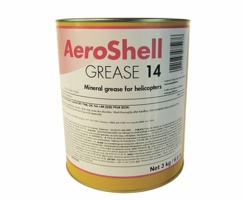 AeroShell Grease 14 Helicopter Multi-Purpose Grease - 6.6 Lb. Can