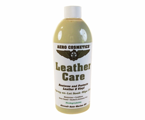 Aero Cosmetics 757P Aircraft Leather Care - 16 oz Trigger-Spray Bottle