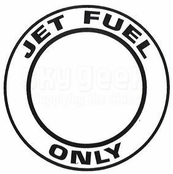 "AeroGraphics ""JET FUEL ONLY"" Placard"