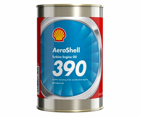 AeroShell Turbine Oil 390 Synthetic Diester Turbine Engine Oil - 24 Quart/Case
