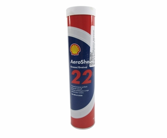 AeroShell™ Grease 22 Advanced General-Purpose Synthetic Aircraft Grease - 380 Gram (13.4 oz) Cartridge