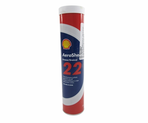 AeroShell� Grease 22 Advanced General-Purpose Synthetic Aircraft Grease - 380 Gram (13.4 oz) Cartridge
