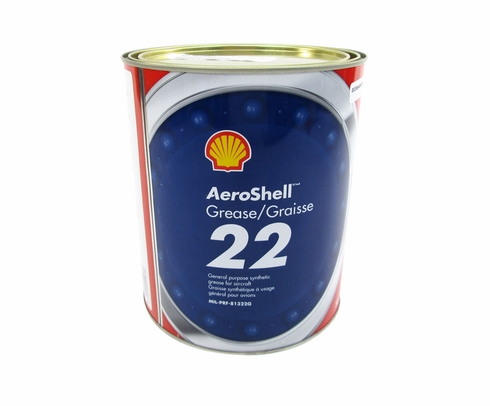 AeroShell� Grease 22 Advanced General-Purpose Synthetic Aircraft Grease - 3 Kg (6.6 lb) Can