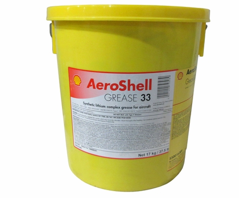 AeroShell� Grease 33 Universal Airframe Synthetic Aircraft Grease - 17 Kg (37.5 lb) Plastic Pail