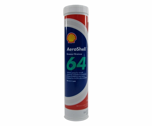 AeroShell Grease 64 (formerly 33MS) Extreme Pressure Grease - 14 oz Cartridge