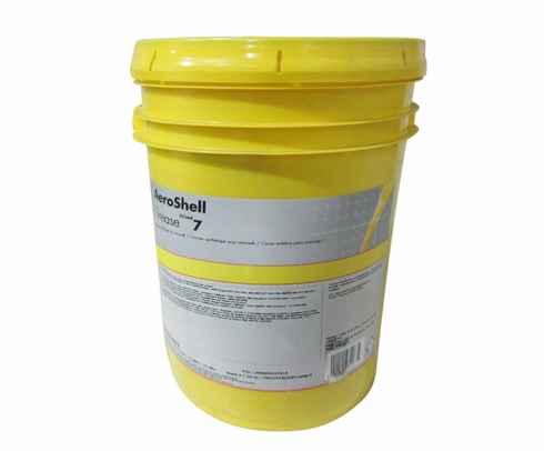 AeroShell� Grease 7 Multi-Purpose Synthetic Aircraft Grease - 17 Kg (37.5 lb) Plastic Pail