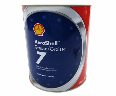 AeroShell� Grease 7 Multi-Purpose Synthetic Aircraft Grease - 3 Kg (6.6 lb) Can