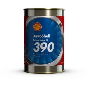 AeroShell Turbine Oil 390 Synthetic Diester Turbine Engine Oil - Quart Can