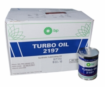 Eastman Turbo Oil 2197 Clear MIL-PRF-23699 HTS Spec Aircraft Turbine Engine Lubricating Oil - 24 Quart (946 mL)/Case