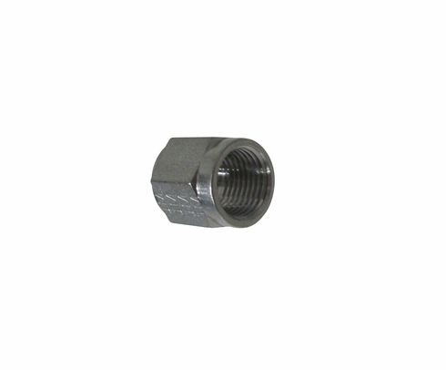 Aeronautical Standard AN818-6J Stainless Steel Nut, Tube Coupling