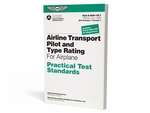 Aviation Supplies & Academics ASA-8081-5F.7 ATP & Airplane Type Rating Practical Test Standards Book