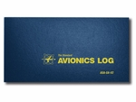 Aviation Supplies & Academics ASA-SA-V2 Blue Avionics Logbook