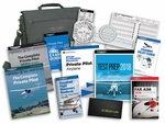 Aviation Supplies & Academics ASA-PVT-61-KIT Complete High Wing Aircraft FAA Part 61 Private Pilot Kit