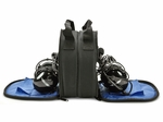 Aviation Supplies & Academics ASA-BAG-HS-2 AirClassics� Double Headset Bag