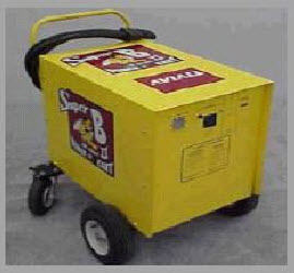 The Super Bee II 28.5-Volt Battery Start Cart - 110 Volt