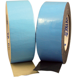 POLYKEN® 108FR-1NAT Natural BMS 5-133G Type II, Class 1 Spec Double-Coated Flame Retardant Carpet Tape - 24mm x 23 Meter Roll