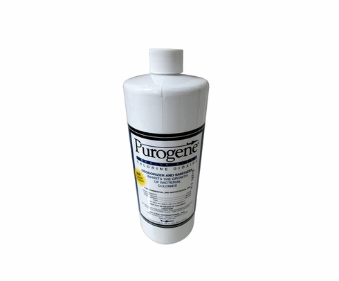 Purogene® 40000 Clear Potable Water Treatment & Tank Disinfectant - Quart Bottle