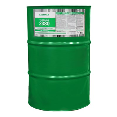 Eastman Turbo Oil 2380 Clear MIL-PRF-23699 Spec Aircraft Turbine Engine Lubricating Oil - 55 Gallon (202.5 Kg) Steel Drum