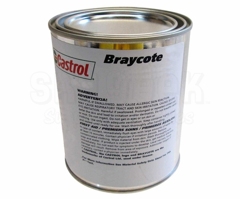 Castrol� Braycote� 3214 Beige MIL-PRF-32014A Spec Multi-Purpose High-Temperature Full Synthetic Grease - 6.5 lb Can