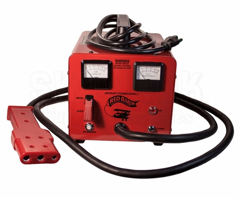 Bycan RB-14/28-25E Red Baron 230-VAC Auxiliary Power Unit - AN2551/Cessna Plug