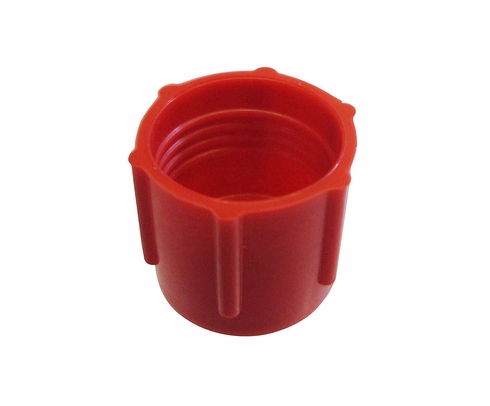 Caplug CD-5 Red 1/2-20 Threaded Plastic Dust & Moisture Cap (CLEARANCE)
