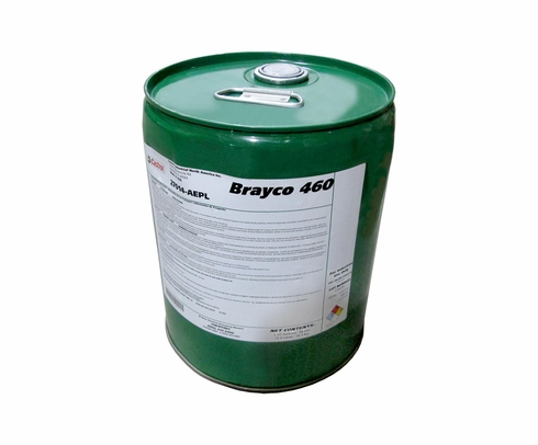 Castrol® Brayco™ 460 Amber MIL-PRF-6081E, Grade 1010/1010N Spec Jet Engine Lubricating Oil - 5 Gallon Steel Pail