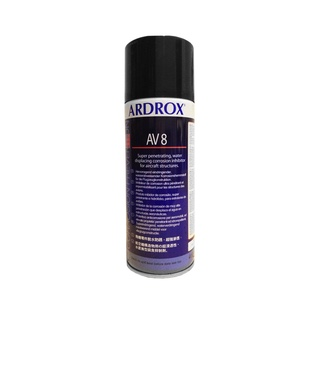 Chemetall Ardrox AV 8 Brown Corrosion Inhibiting Compound - 13.5 oz Aerosol Can
