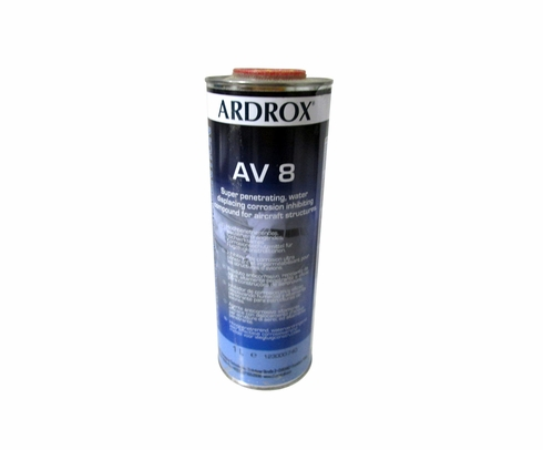 Chemetall Ardrox AV 8 Brown Corrosion Inhibiting Compound - Liter Can