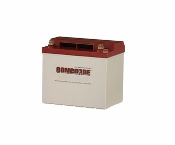 Concorde RG-25 12-Volt General Aviation AGM Aircraft Battery