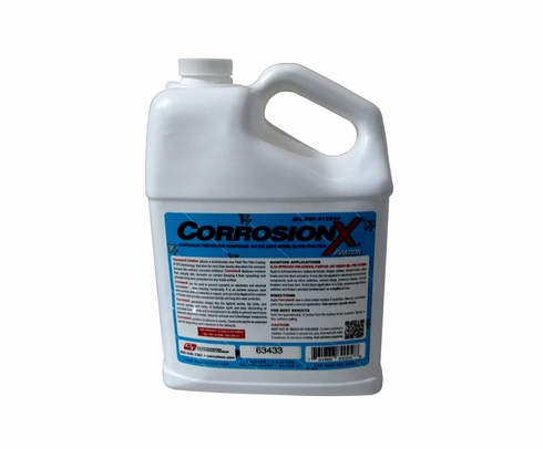 CorrosionX� Aviation 84004 Clear MIL-PRF-81309F Type II, Class II Spec Aviation Corrosion Inhibitor - Gallon Jug