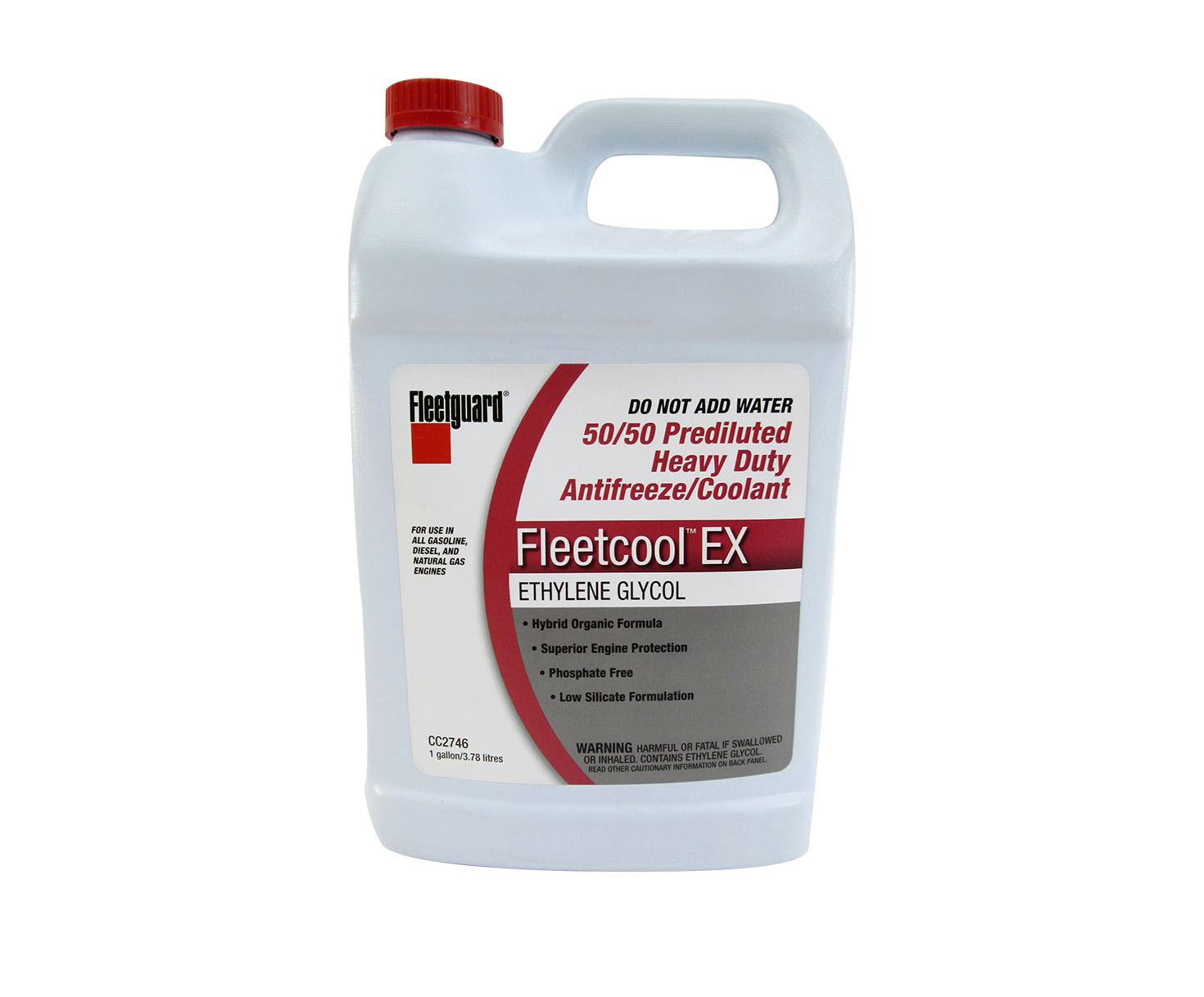 Cummins Fleetguard Cc2746 Fleetcool Ex 50 Prediluted Heavy Duty Pink Engine Coolant Antifreeze Gallon Jug At