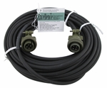 David Clark 18747G-02 Model C38-50 Black Series 3800 50' Jumper Cord Assembly