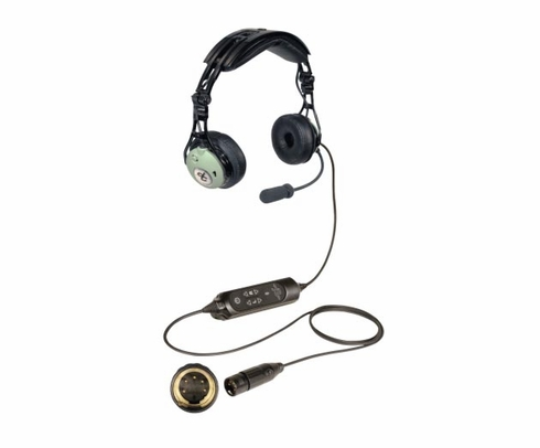 David Clark DC Pro XA Airbus Style Plug Noise-Cancelling Commercial Aircraft Headset