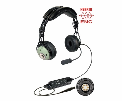 David Clark DC Pro XP Panel Mount Noise-Cancelling Commercial Aircraft Headset