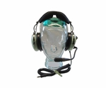 David Clark H10-13H 5-Foot Coil Cord Helicopter Headset (CLEARANCE)