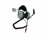 David Clark H10-76 Low Impedance Military Aircraft Headset