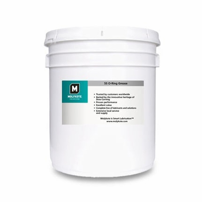Dow Corning Molykote 55 Off-White O-Ring Grease - 3.6 Kg Pail