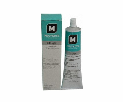 Dow Corning Molykote� 33 Off-White Light Extreme Low Temperature Bearing Grease - 150 Gram Tube