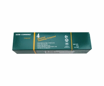 Dow Corning 4 White Electrical Insulating Compound - 150 Gram Tube