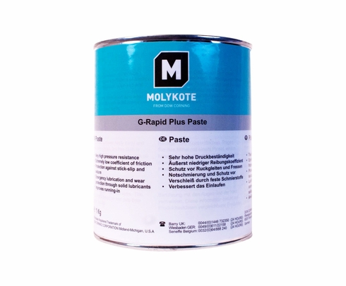 Dow Corning Molykote® G-Rapid Plus Black Solid Lubricant Paste - 1 Kg Can