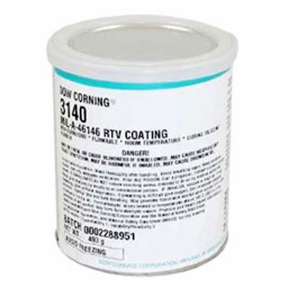 Dow Corning 3140 Clear Silicone Conformal Coating - 493 Gram Can