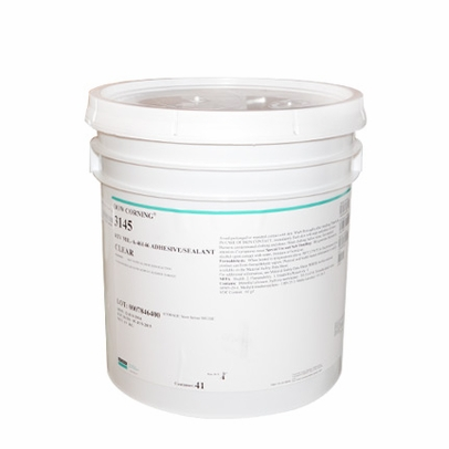 Dow Corning 3145 Clear Silicone Adhesive - 19 Kg Pail