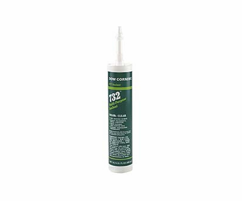 Dow Corning 732 White Multi-Purpose Silicone Sealant - 300 mL Cartridge