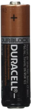 DURACELL� MN1500 Duralock� AA-cell Alkaline Button Top Battery - Uncarded Bulk