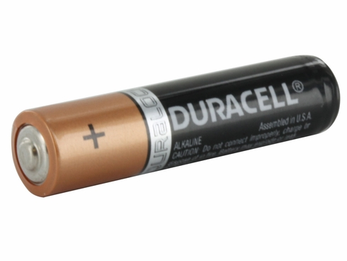 DURACELL� MN2400 Duralock� AAA Alkaline Button Top Battery - Uncarded Bulk