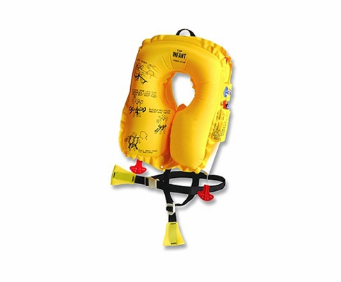EAM Worldwide P0640-101 Yellow N-V20L8 Infant Aircraft Life Vest