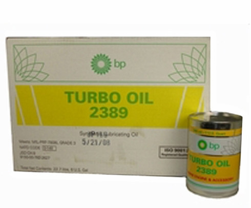 Eastman Turbo Oil 2389 Clear MIL-PRF-7808 Grade 3 Spec Aircraft Turbine Engine Lubricating Oil - 24 Quart (946 mL)/Case